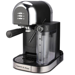 Кофеварка рожковая Zigmund & Shtain Al caffe ZCM-888 черный