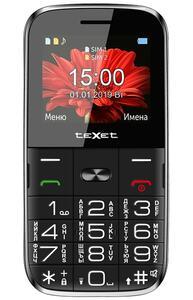 Сотовый телефон teXet TM-B227 черный