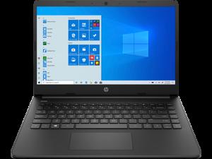 """14"""" Ноутбук HP Laptop 14s-fq0077ur черный"""