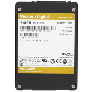 7680 ГБ SSD-накопитель WD Gold [WDS768T1D0D]