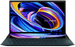 "14"" Ноутбук ASUS ZenBook DUO 14 UX482EA-HY162T синий"