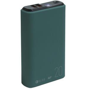 Портативный аккумулятор Olmio QS-20 зеленый