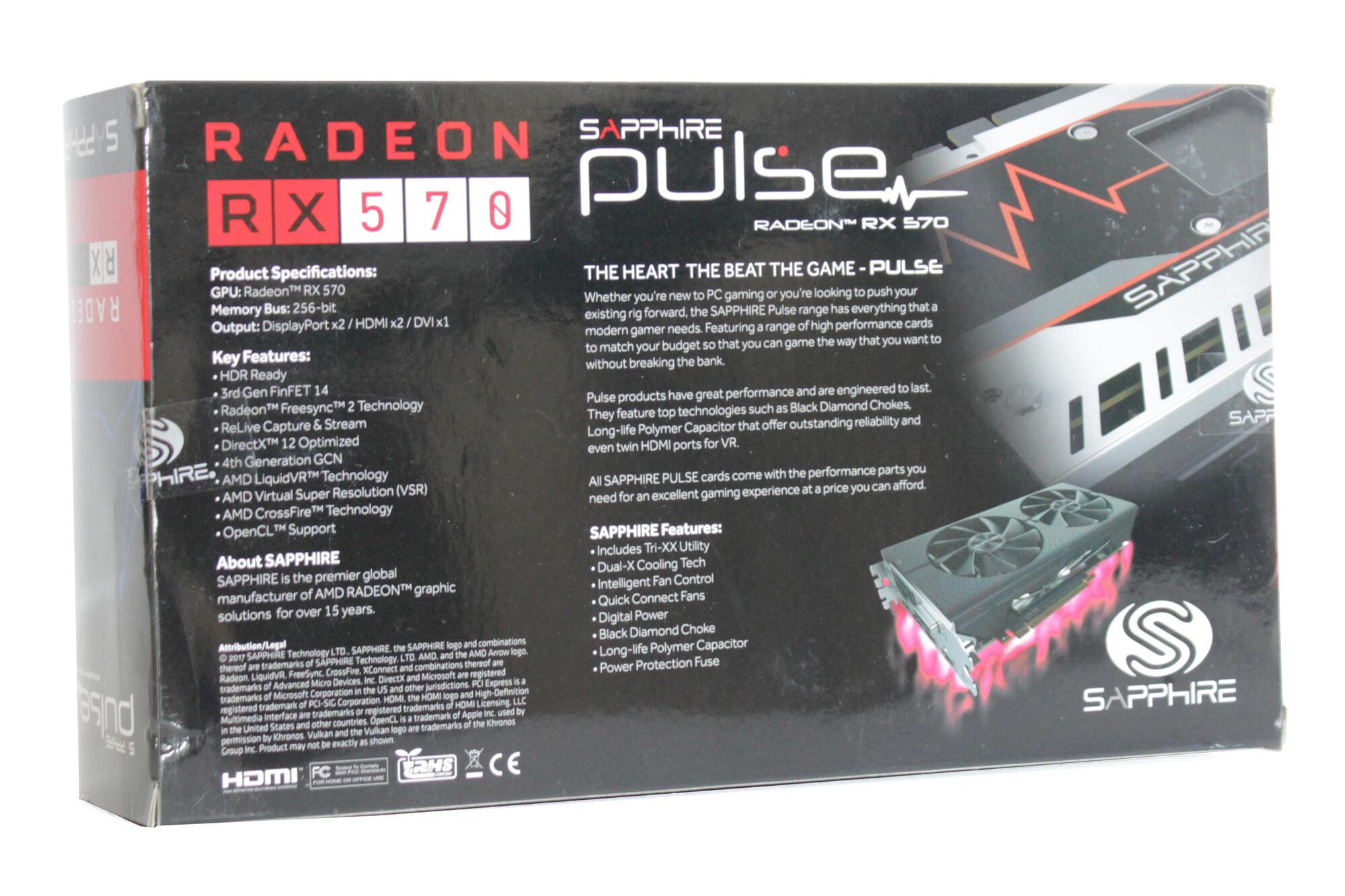 Видеокарты - Обзор и тестирование Radeon RX 570: Back in Red | Клуб