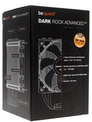 Be Quiet! DARK ROCK ADVANCED (AlCu,6 трубок,1100 об/мин,TDP-180w,50.5 CFM, 6.6-18.8dBA) Socket-775/1150/1155/АМ2/754/940