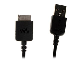 Кабель Sony USB - WM port черный