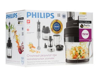 Блендер Philips HR1669/90 черный
