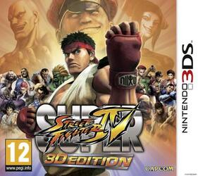 Игра для 3DS Super Street Fighter IV