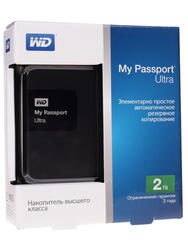 "2.5"" Внешний HDD WD My Passport Ultra [WDBNFV0020BBK]"