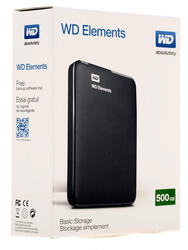 "2.5"" Внешний HDD WD Elements Portable [WDBUZG5000ABK]"