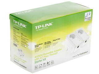Адаптер PowerLine TP-LINK TL-PA4010PKIT