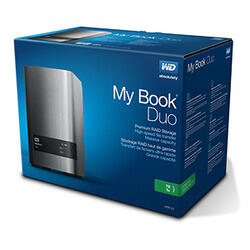 "3.5"" Внешний HDD WD My Book Duo [WDBRMH0120JCH]"