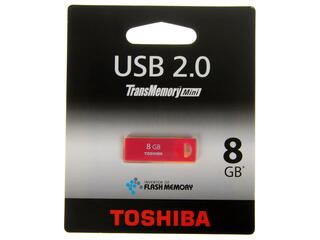 Память USB Flash Toshiba TransMemory-Mini 8 Гб