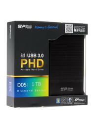 "2.5"" Внешний HDD Silicon Power Diamond D05 [SP010TBPHDD05S3T]"