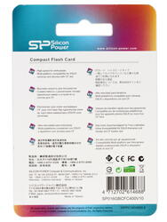 Карта памяти Silicon Power (CF) SP016GBCFC400V10 Compact Flash 16 Гб