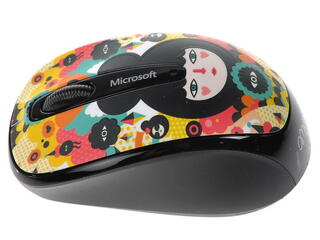 Мышь беспроводная Microsoft Wireless Mobile Mouse 3500 ARTIST STUDIO Muxxi