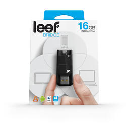 Память OTG USB Flash Leef BRIDGE  16 Гб