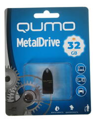 Память USB Flash Qumo MetalDrive 32 Гб