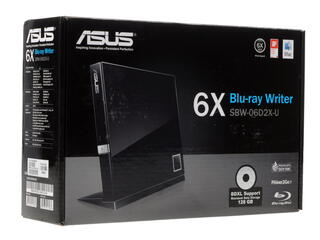 Привод внеш. BD-RE ASUS SBW-06D2X-U/BLK/G/AS