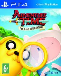Игра для PS4 Adventure Time: Finn and Jake Investigations