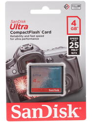 Карта памяти Sandisk ULTRA Compact Flash 4 Гб