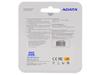 Память USB Flash AData C906 8 Гб