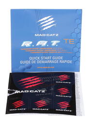 Мышь проводная Mad Catz R.A.T.TE Matt Black