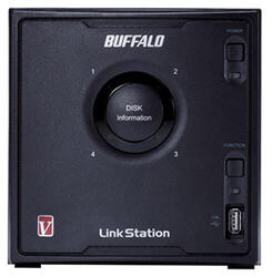 Сетевое хранилище Buffalo LinkStation Pro Quad LS-QV12.0TL/R5-EU
