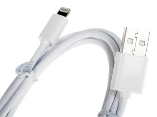 Кабель InterStep USB - Lightning 8-pin белый