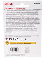 Карта памяти Sandisk ULTRA Compact Flash 16 Гб