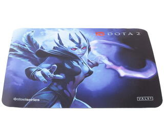 Коврик SteelSeries QcK + Dota 2 Vengeful Spirit Edition