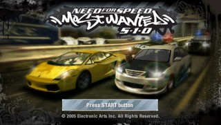 "Игра для PSP ""Need for Speed: Most Wanted 5-1-0"" (3+)"