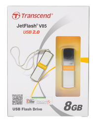 Память USB Flash Transcend JetFlash v85 8 Гб