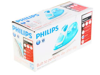 Утюг Philips GC2910 голубой