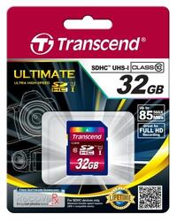 Память Transcend (SDHC) 32 Gb 600x UHS-I Ultimate (Class 10)