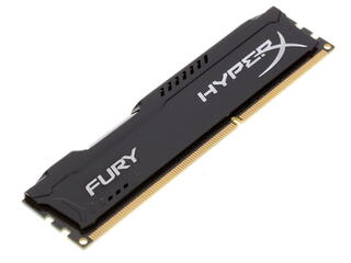 Оперативная память Kingston HyperX FURY Black Series [HX313C9FB/4] 4 ГБ