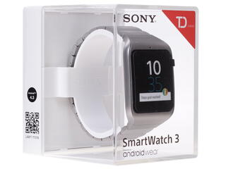 Смарт-часы Sony SmartWatch 3 SWR50 серебристый