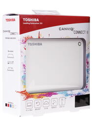 "2.5"" Внешний HDD Toshiba CANVIO Connect II [HDTC810EW3AA]"