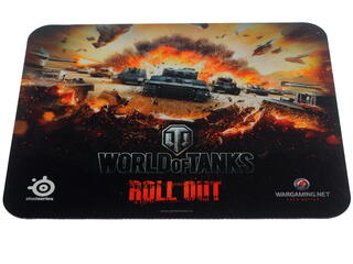 Коврик SteelSeries QcK World of Tanks Tiger edition