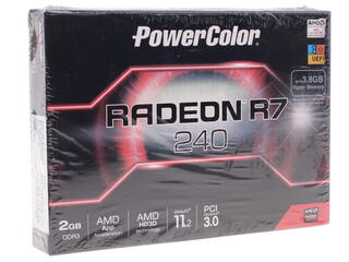 Видеокарта PowerColor AMD Radeon R7 240 [AXR7 240 2GBK3-HLE]