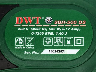 Перфоратор DWT SBH-500 DS BMC