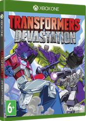 Игра для Xbox ONE Transformers: Devastation