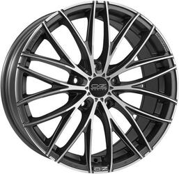Автомобильный диск Литой OZ Racing Italia 150 7x17 5/100 ET 35 DIA 68 Matt Dark Graphite D.C.