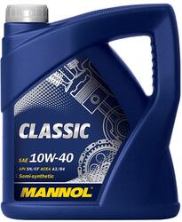 Моторное масло MANNOL Classic 10W40 CL40420