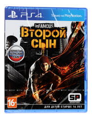 Игра для PS4 Infamous: Second Son