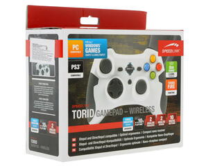 Геймпад Speedlink SL-6576-WE TORID Wireless Gamepad белый
