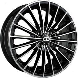 Автомобильный диск Литой OZ Racing 35 Anniversary 7x17 4/108 ET 25 DIA 75 Black + Diamond Cut