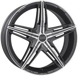 Автомобильный диск Литой OZ Racing David 7,5x17 5/112 ET 35 DIA 75 Matt Graphite Diamond Cut