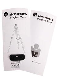 Штатив Manfrotto MKCOMPACTLT-PK серебристый