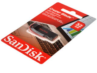Память USB Flash SanDisk Cruzer Blade 32 Гб