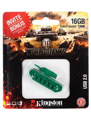 Память USB Flash Kingston DT-TANK 16 Гб